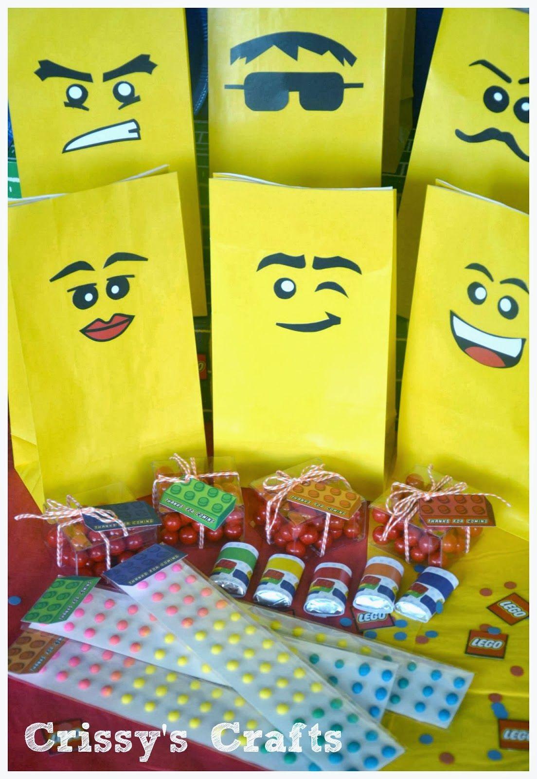 Crissy's Crafts: Lego Party Favor Ideas & Blog Hop | lego ...