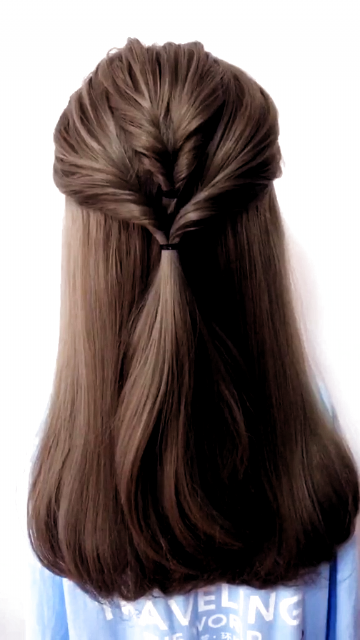 Hairstyles For Long Hair Videos Hairstyles Tutorials Compilation 2019 Part 18 In 2020 Hair Videos Long Hair Video Long Hair Styles