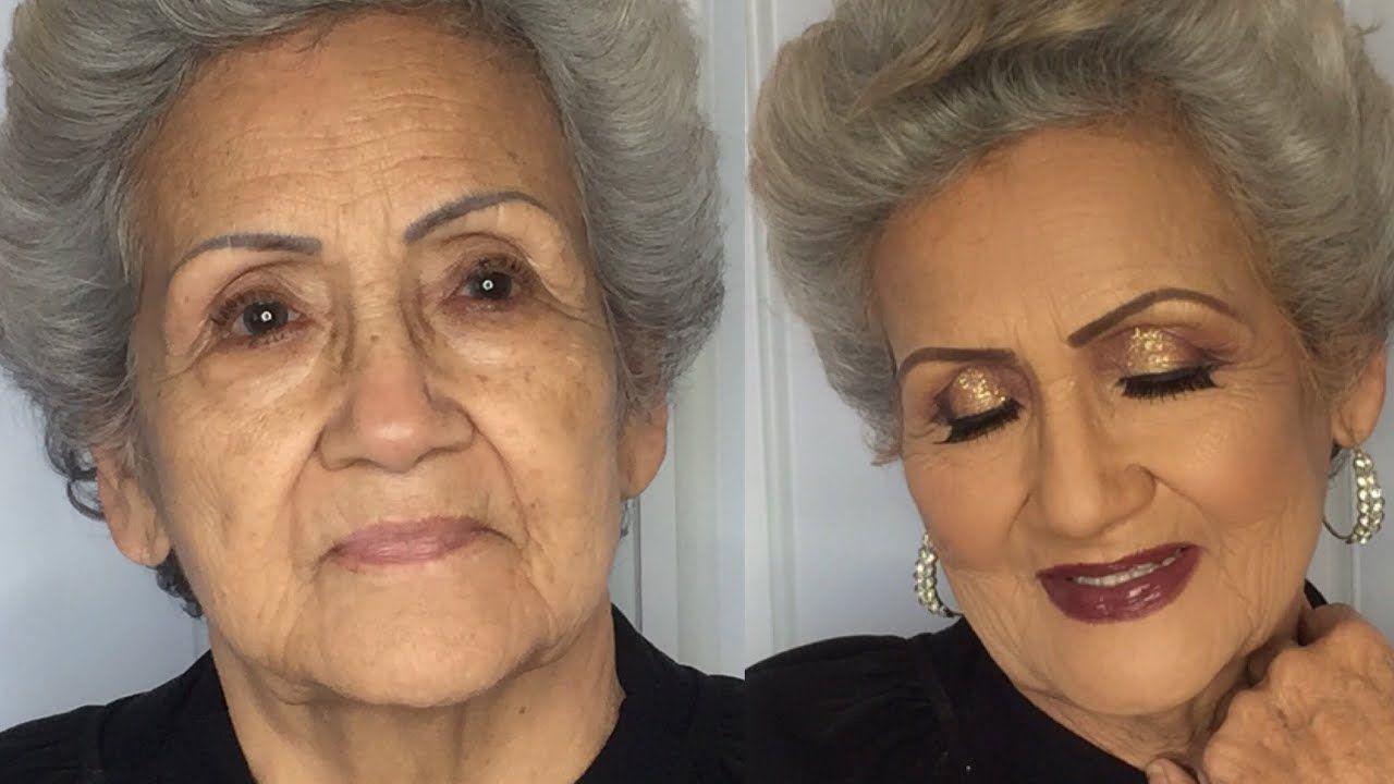 Abuelas Maduras pin on make up!