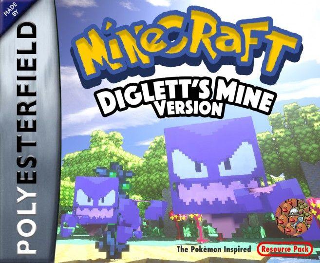 Diglett S Mine The Pokemon Resource Pack Minecraft Texture Pack Texture Packs Pokemon Packing