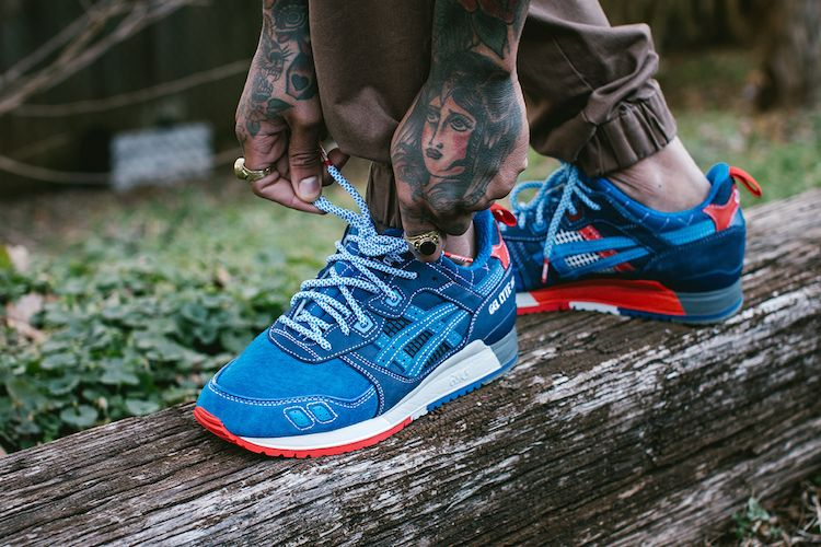 Lyte Anniversary 25th Mita X Iii Foot PreviewStuff On Gel Asics IE9D2WH