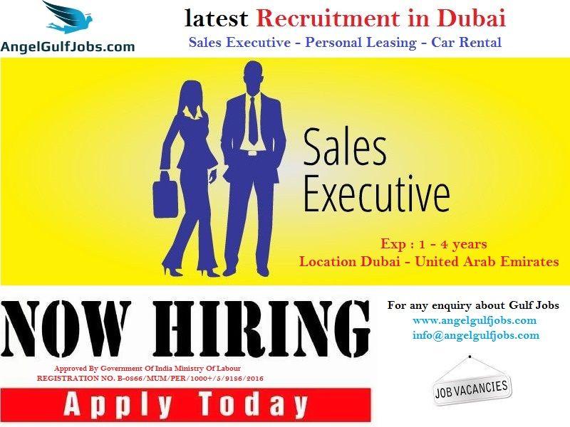 Latestgulfrecruitment In Dubai Careers Jobs Angelgulfjobs Sales