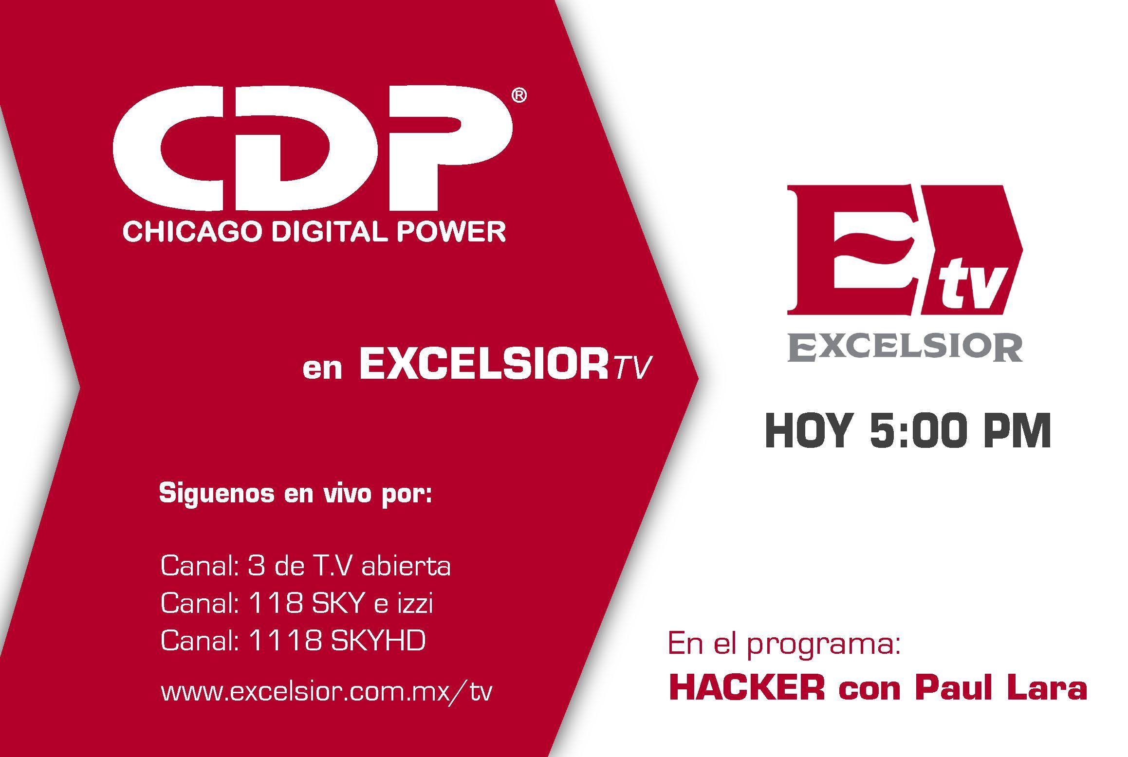 Conoce como proteger tu inversión en este BUEN FIN ¡No te lo pierdas CDP en Excelsior TV! Sintonízanos en los canales de TV abierta o de paga y en internet: www.excelsior.com.mx/tv