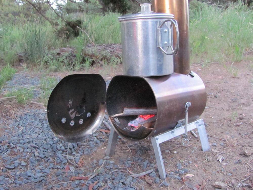 Hill People Gear | Make your own woodstove. Its body is a stainless steel silverware. Diy C&ingTent ... & Hill People Gear | Make your own woodstove. Its body is a ...