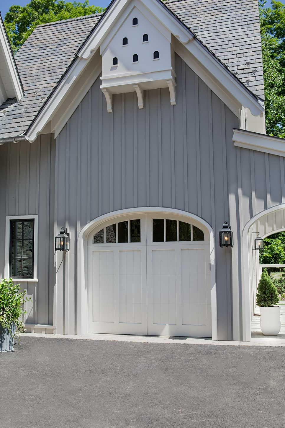Love The Siding Garage Door Little Bird Bat House Above Ueco Portfolio Environment Exterior