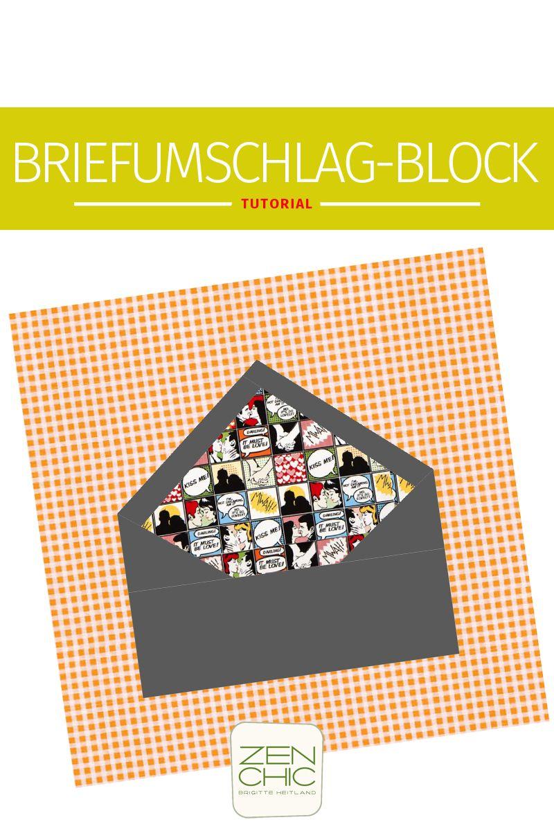 Briefumschlag Block mit deutscher Anleitung, PDF zum Download ...