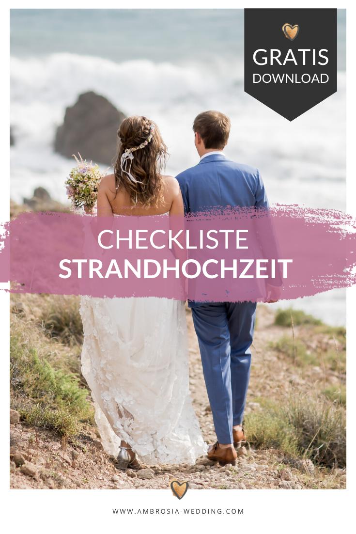 Checkliste Heiraten Am Strand