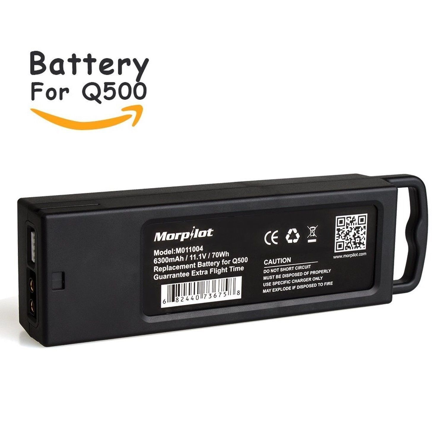 [CE Approved] Morpilot 3S 6300mAh 11.1V LiPO Battery with