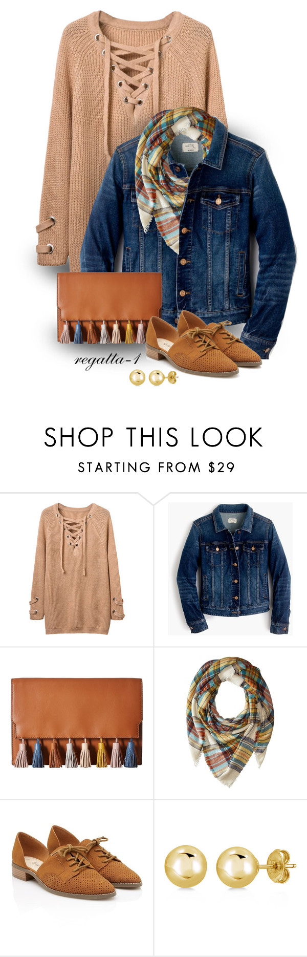"""Ready for Fall!"" by regatta-1 ❤ liked on Polyvore featuring J.Crew, Rebecca Minkoff, Steve Madden and BERRICLE"