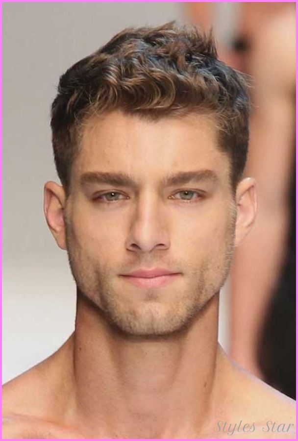 Cool Short Haircuts For Guys With Thick Curly Hair Models 1