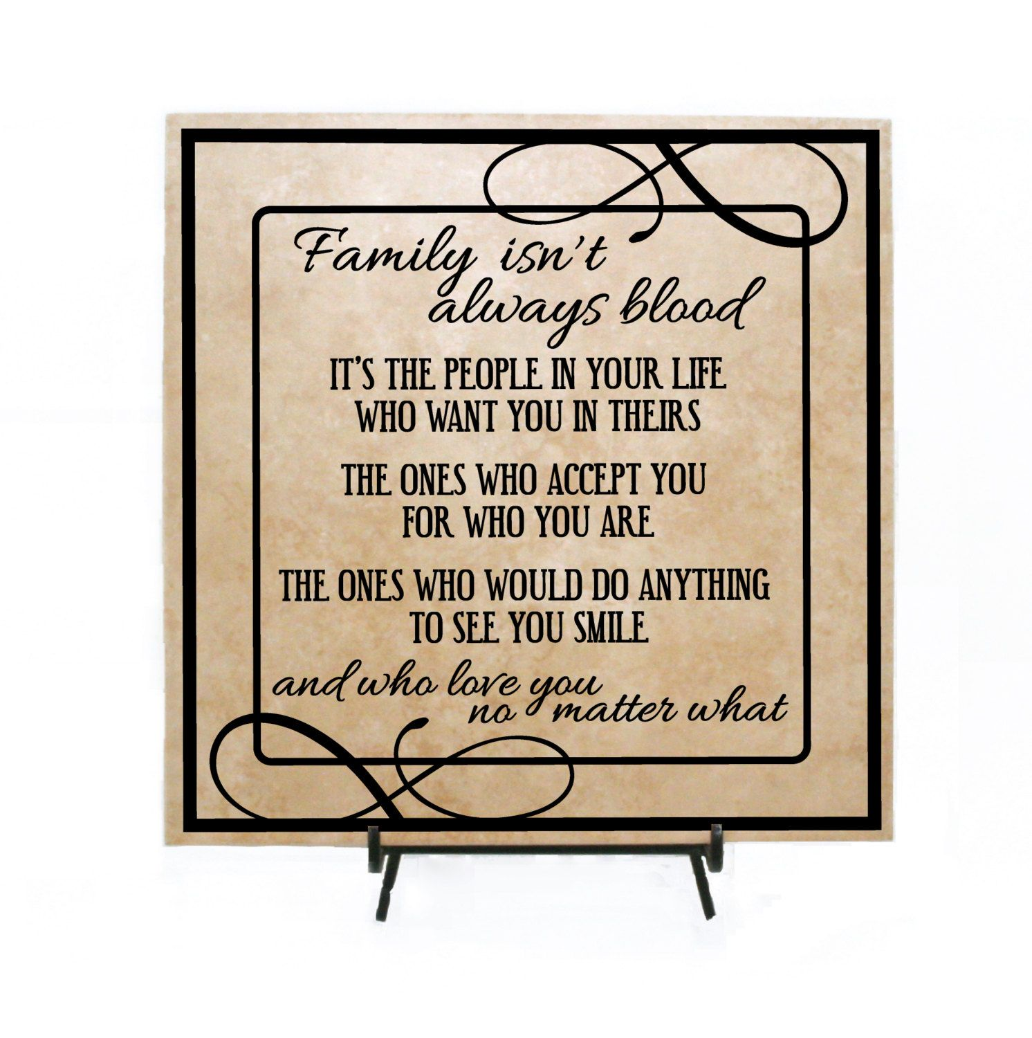 Nuts Friend Friendship Plaque Sign gift funny Family Tree