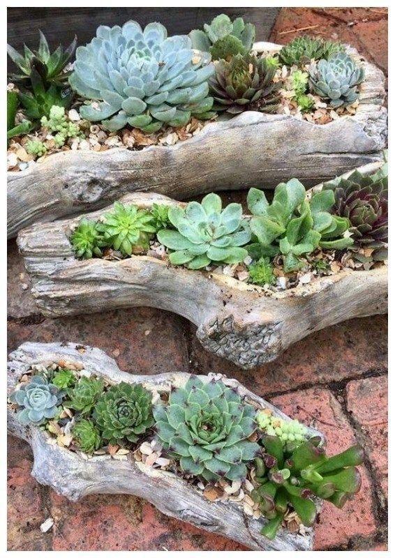 37 erstaunliche DIY-Ideen für die Dekoration Ihres Gartens einzigartig 36   #Dekoration #die ... #budgetbackyard