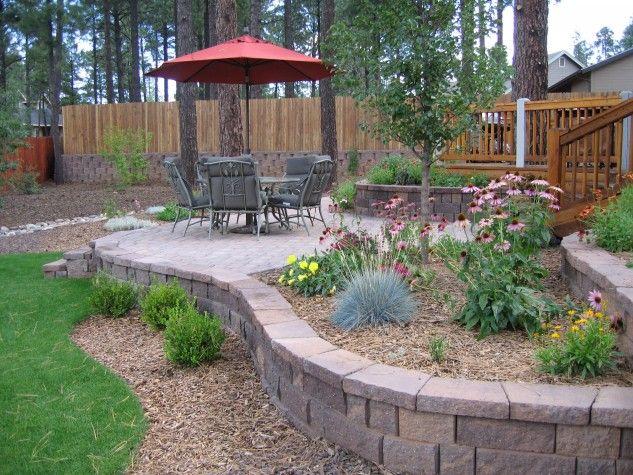 Backyard Desert Landscaping Ideas On A Budget Large Backyard Landscaping Patio Landscaping Easy Backyard Landscaping