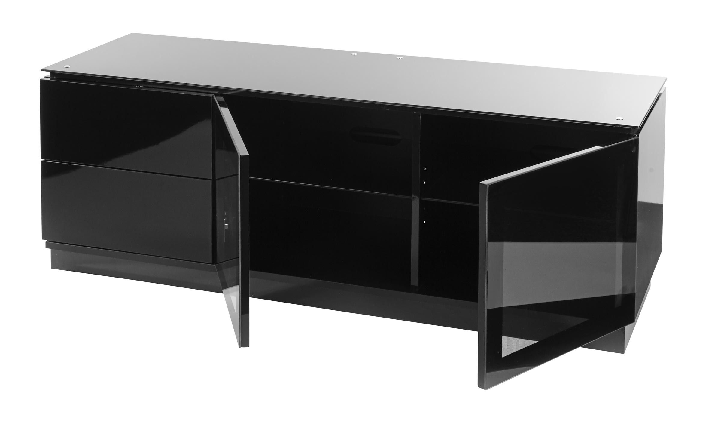 Check 15 Collection Of Black Gloss Tv Cabinet That Can Boost The Earance Stands Explore Ideas Here