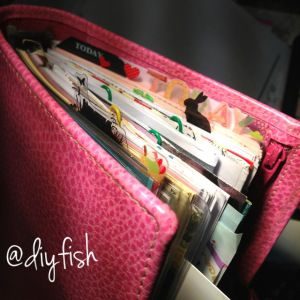 Tutorial No.9 – Useful Clear Page Marker for FILOFAX - DIYfish
