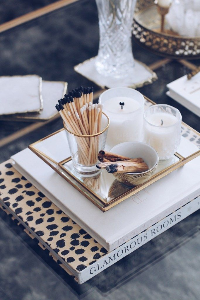 How I Styled My Coffee Table - Sarah Grace at Home