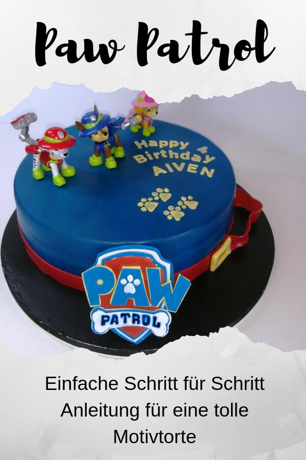 Paw Patrol Kuchen Motivtorte Tutorial Die Torte Paw Patrol Kuchen Internationale Rezepte Und Kind Und Kegel
