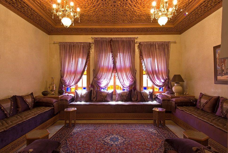 Décoration Salon Marocain Moderne 2015: Salon marocain lalla chafya ...