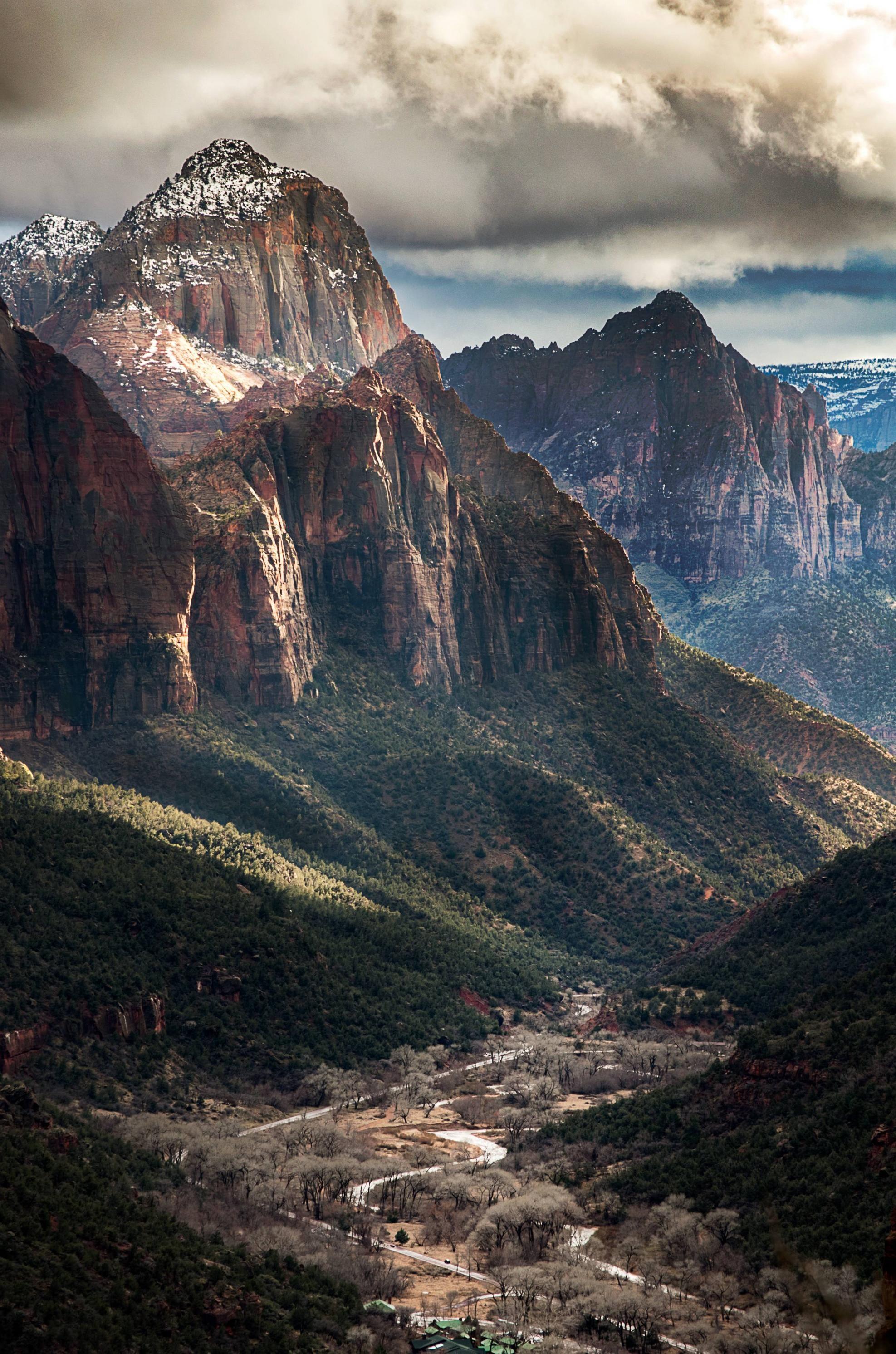 Zion National Park Ut 2822 4263 Oc Reddit National Parks