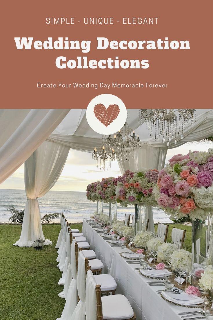 Latest wedding decor ideas  Stunning Wedding Decoration Ideas Gallery  Stunning And Budget