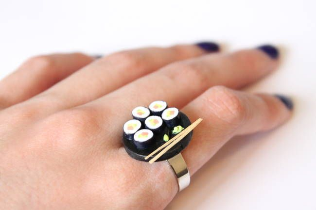 How about a sushi ring?