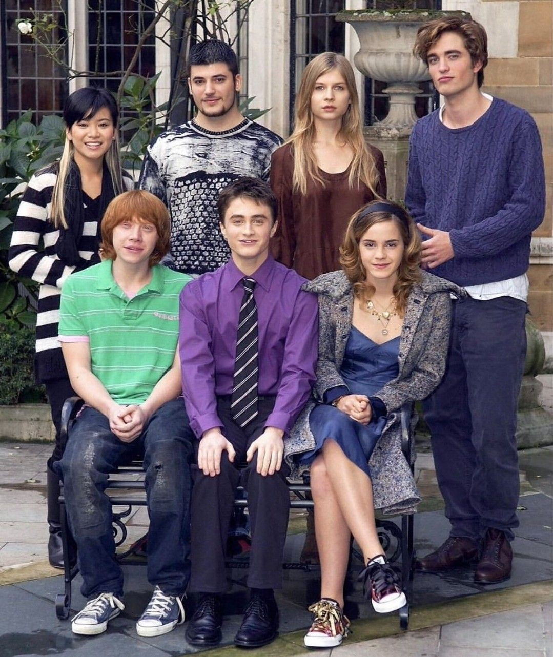 The Cast Of Harry Potter And The Goblet Of Fire Harry Potter Goblet Harry Potter Images Harry Potter Pictures