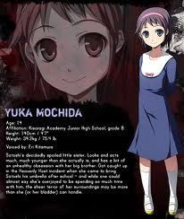 Corpse Party Tortured Souls Yuka Mochida Corpse Party