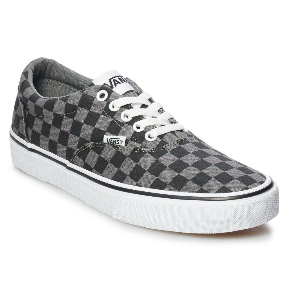 Vans Doheny Men's Checkerboard Skate Shoes, Size: Medium
