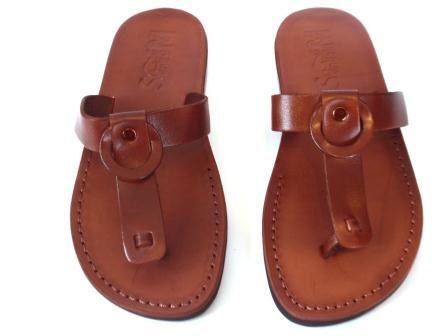 5ee208451d18fb Leather Sandals HAMMER Men s Shoes Jesus Jerusalem Strappy Thongs Flip Flops  Flats Slides Slippers Biblical Colored Footwear Fisherman by Sandalimshop  on ...