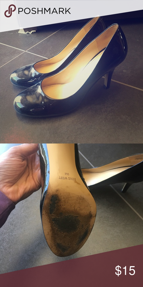 04e0ebc550ba Nine West Pumps (black) Worn only a few times. Great condition. Sole is a  little dirty. Nine West Shoes Heels