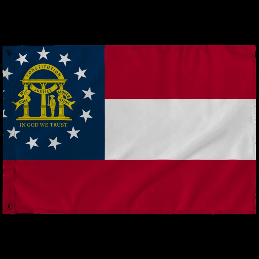 Georgia State Flag Georgia State State Flags Flag