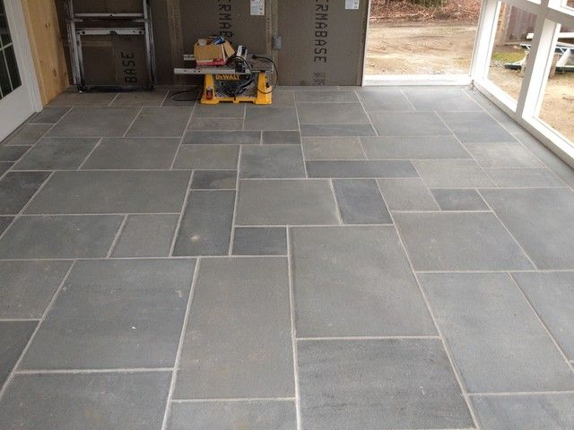 Chic Garage Floor Tiles Installation For Cleaner Looking Fantastic Contemporary Porch Design Used Concrete Garag Porch Tile Stone Tile Flooring Patio Flooring