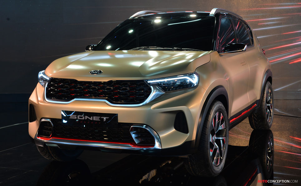 Kia Concept Car Revealed in Delhi AutoConception
