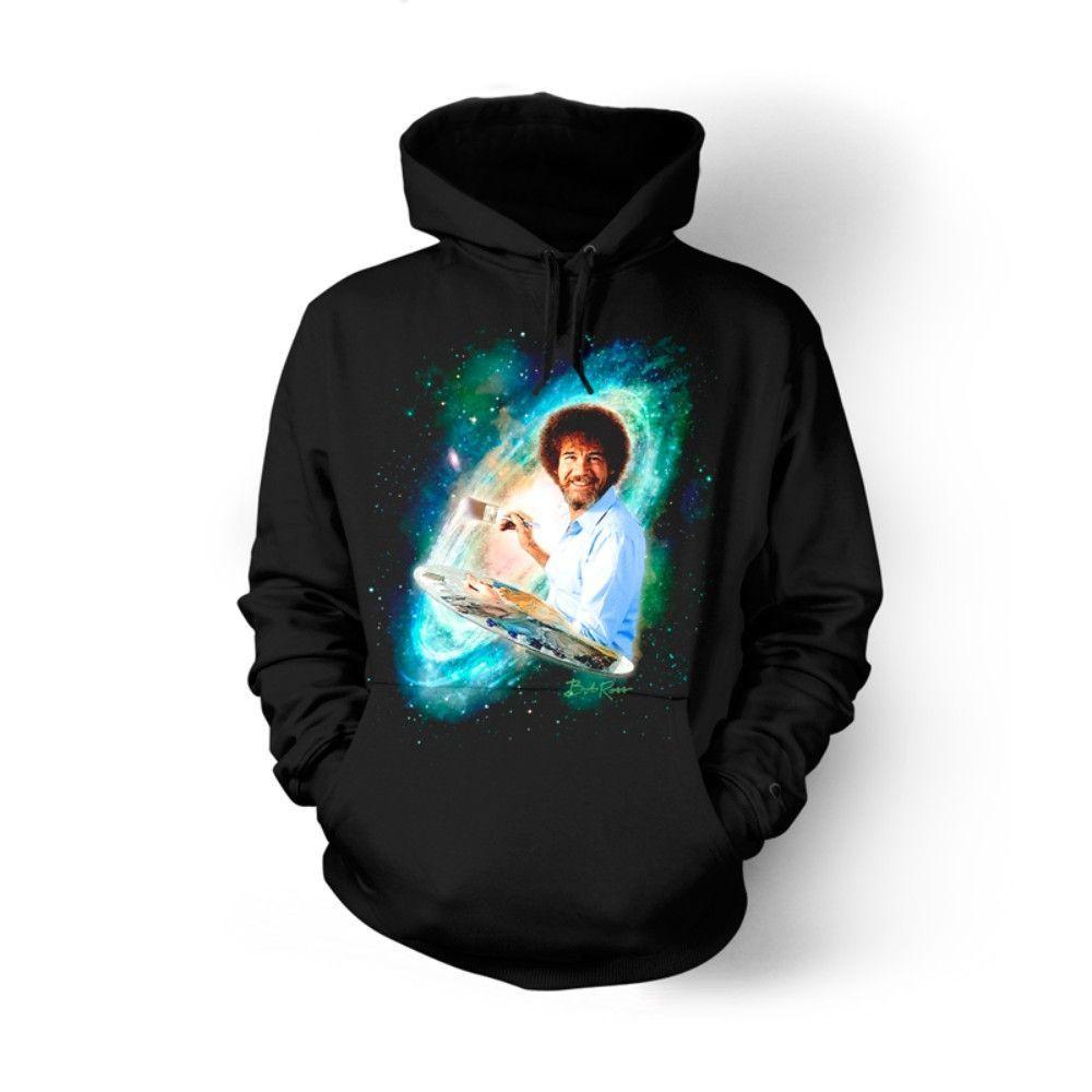 b32a7aae Bob Ross The Joy of Painting Galaxy T-shirts | Bob Ross. | Galaxy t ...