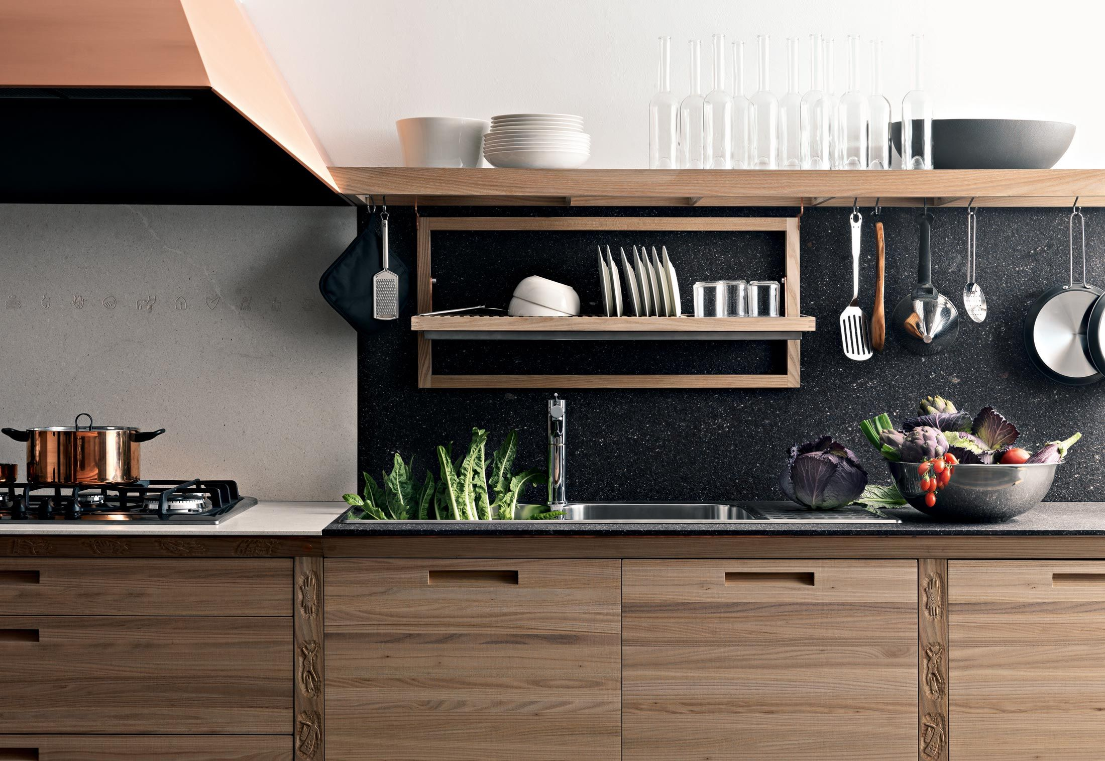 Sinetempore By Valcucine Fitted Kitchens Design At Stylepark Italian Kitchen Design Modern Kitchen Kitchen Interior