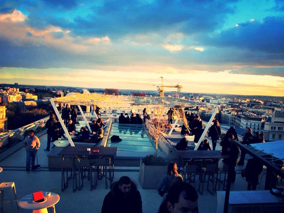 Rooftop in Madrid - Circulo de Bellas Artes