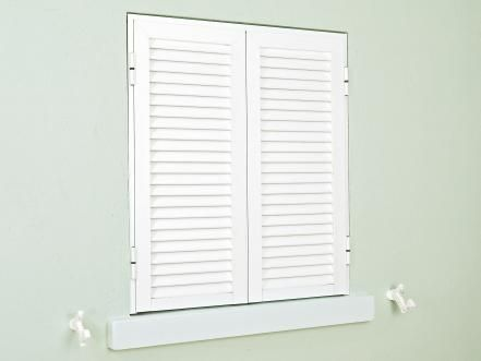 Good How To Install Interior Shutters