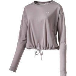 Under Armour Damen Shirt Ua Whisperlight Cropped Cover Up, Größe Xl In Grau Under ArmourUnder Armour