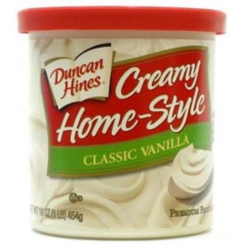 Duncan Hines Creamy Homestyle Frosting Duncan Hines Creamy Home Style Classic Vanilla Frosting Vanilla Frosting Recipes Vanilla Frosting Duncan Hines