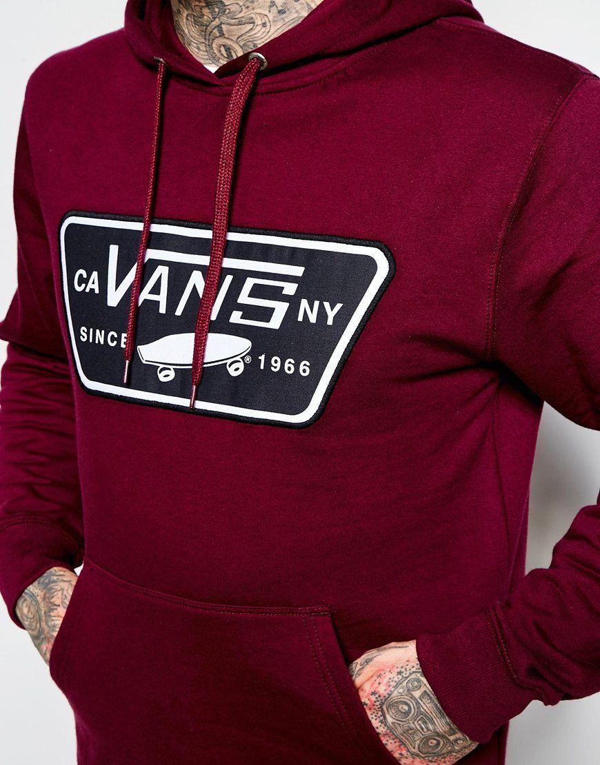 Image 3 of Vans Hoodie With House Of Vans Logo