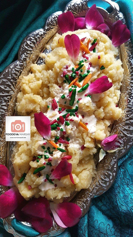 Burfee Sojee Burfee Semolina Halwa Foodeva Marsay Sweet Meat Recipe Indian Food Recipes Sweet Meat