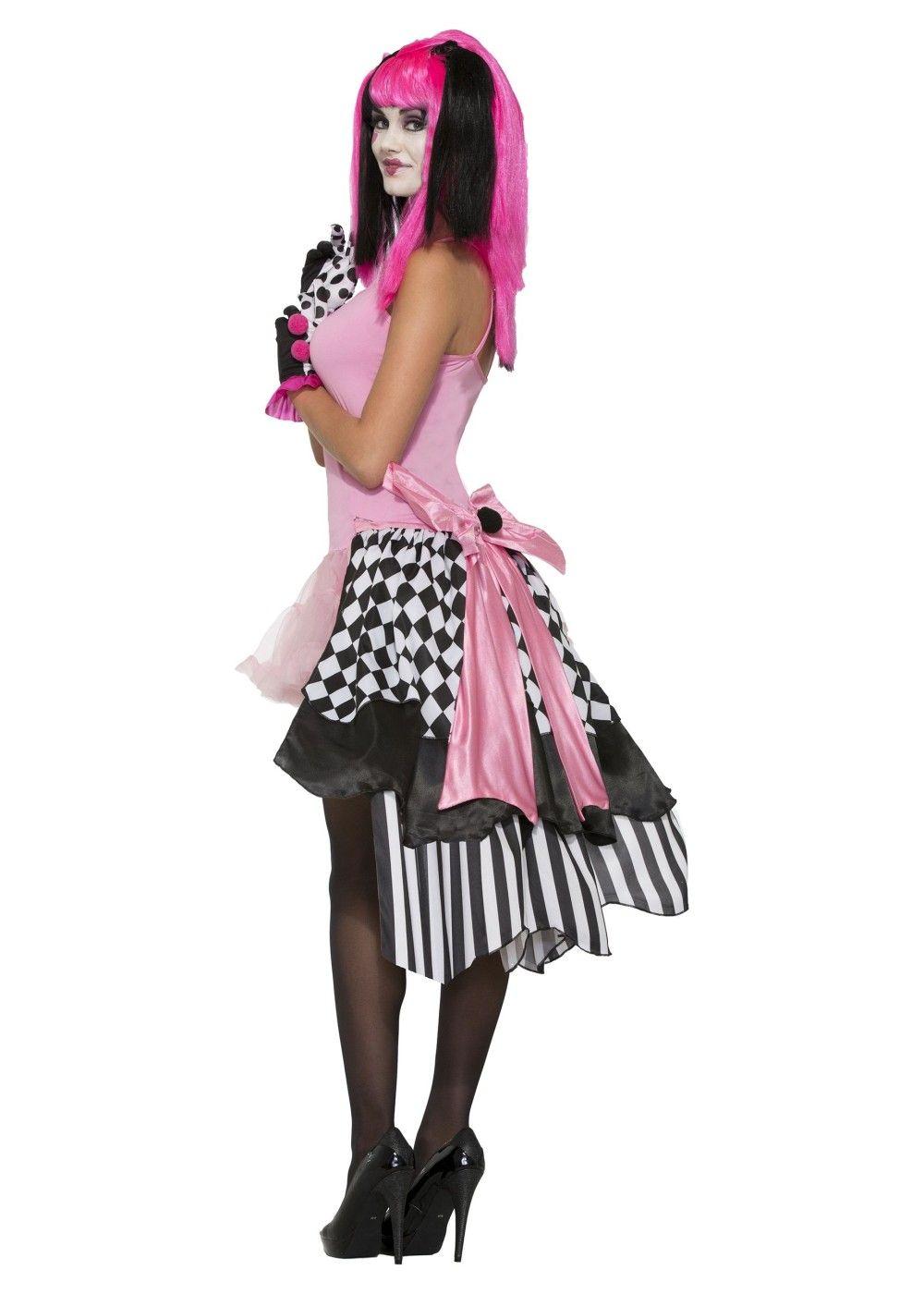 harlequin clown bustle petticoat - Halloween Petticoat