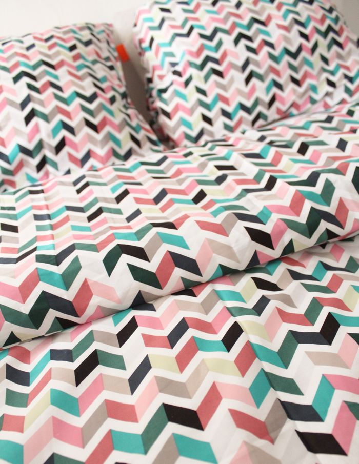 Zigzag bedding by Auping