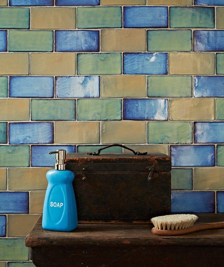 Shibori Green Tile | Topps Tiles