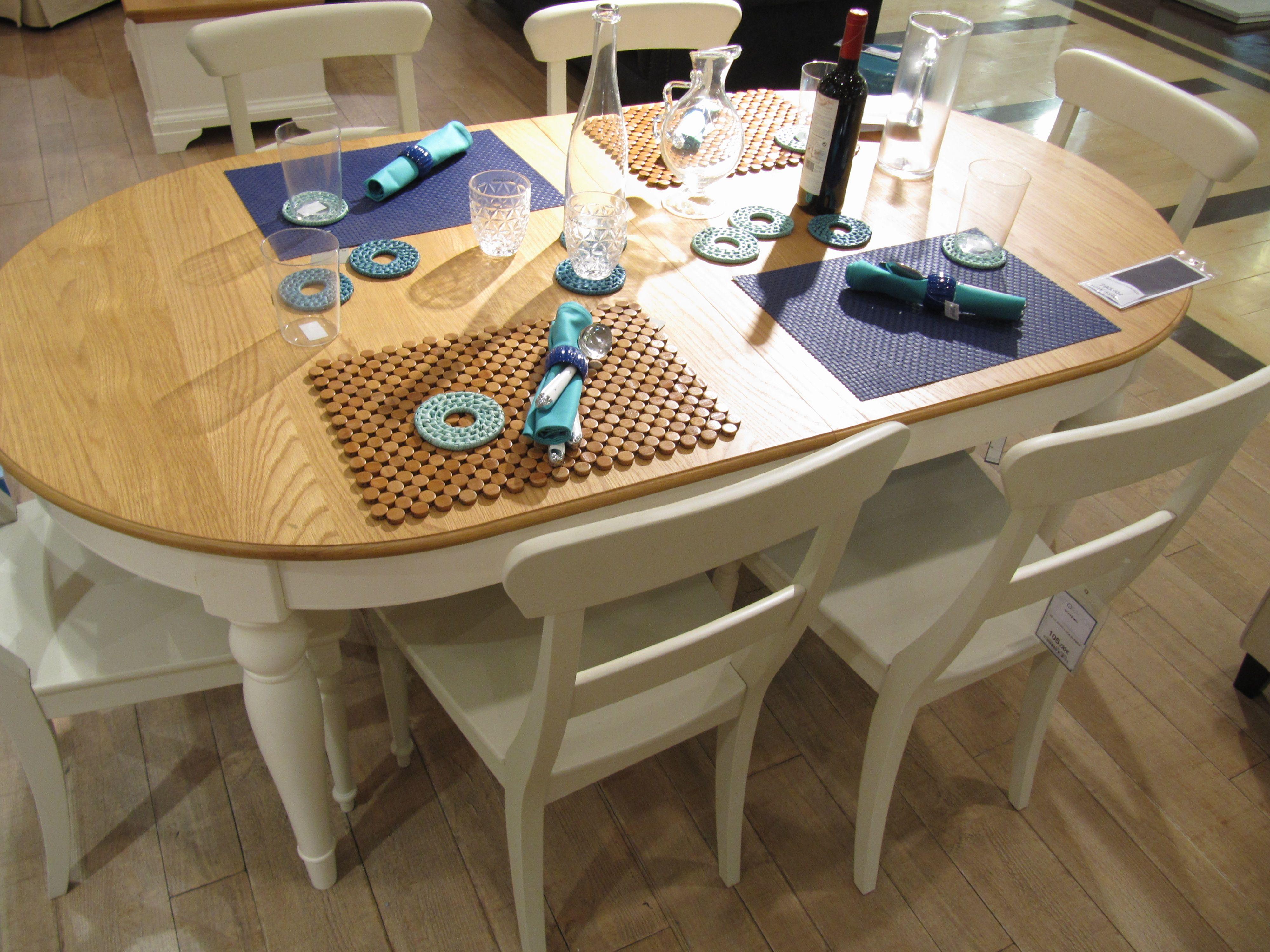 El Corte Inglés. Mesa de madera 181x96 cm. 795 € | Decoración salón ...