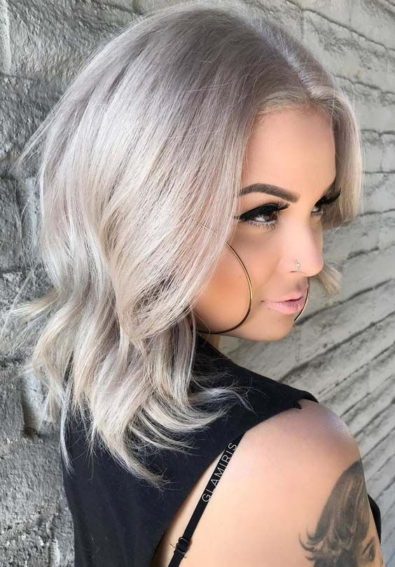 38 Popular Platinum Blonde Hair Color Trends In 2018 Hairstyles To