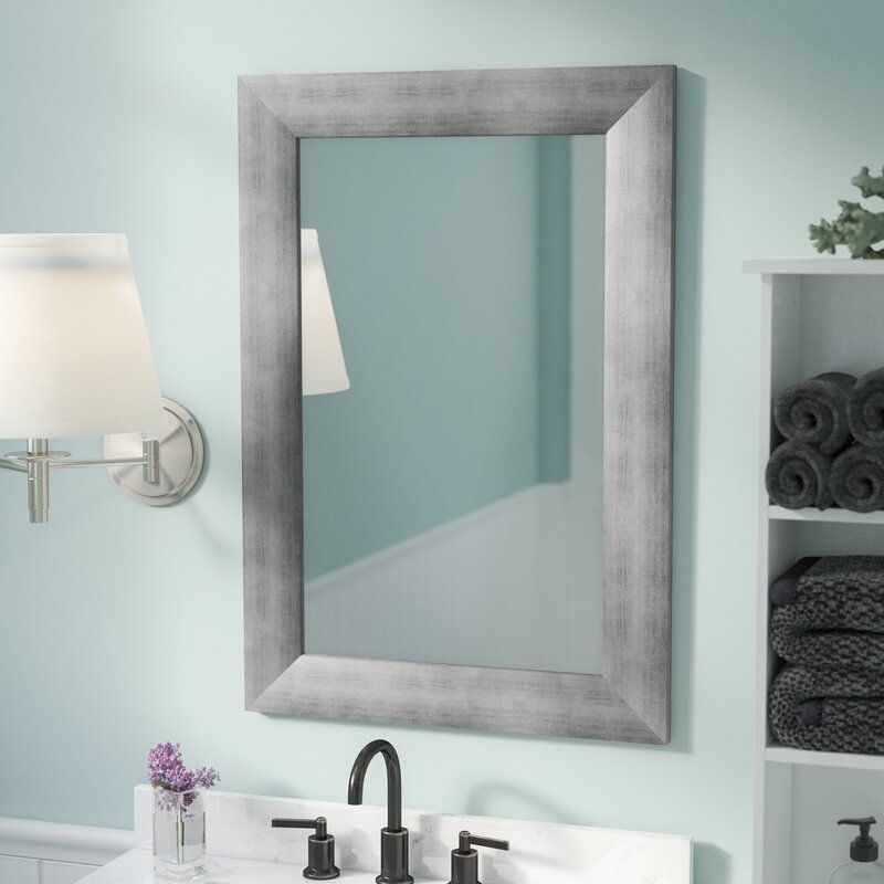 Modern And Contemporary Wall Mounted Mirror In 2020 Bathroom Mirror Wall Mounted Mirror Mirror Wall Bathroom