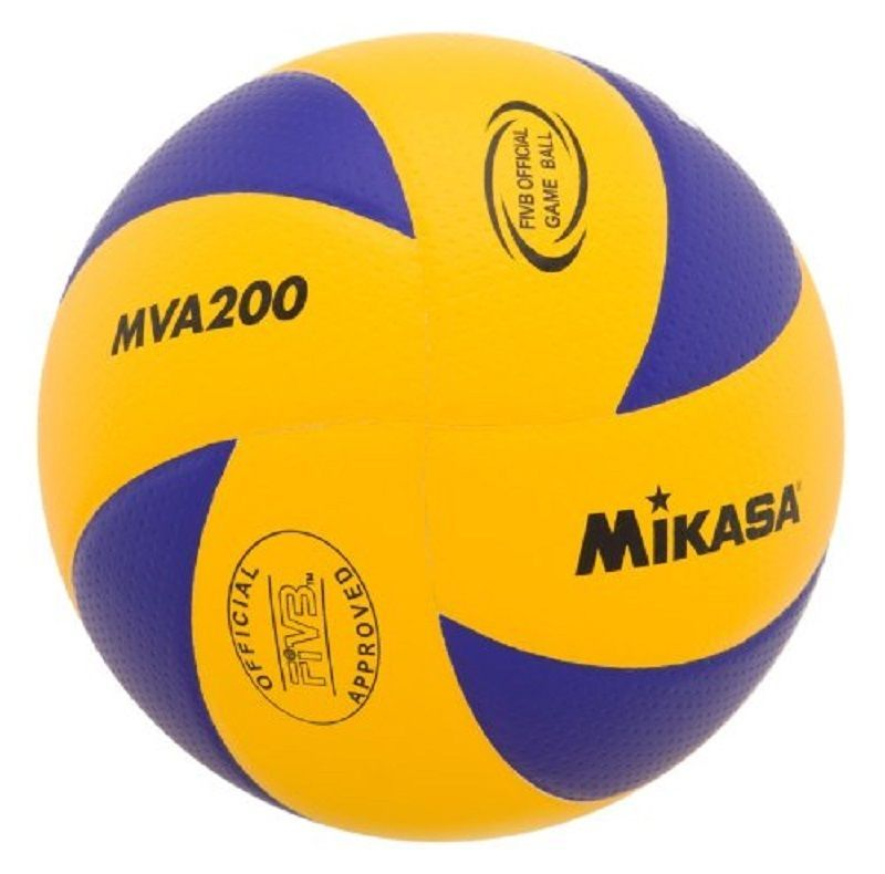 dcda3079a2 Volleyball Mikasa MVA200 Rio Olympic Game Ball Blue yellow Indoor sport  design  Mikasa