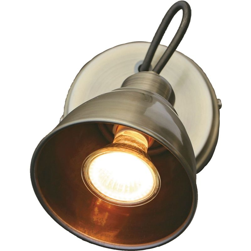 Find Talbot Antique Brass Single Spotlight At Homebase Visit Your Local Store For The Widest Range Of Lighting Electric Homebase Outdoor Living Diy Antiques