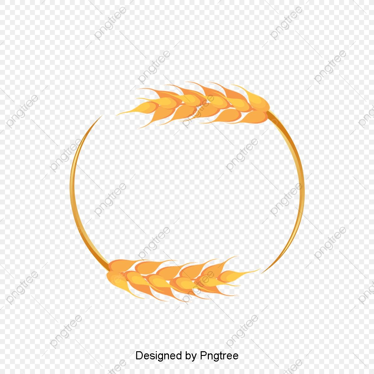 Beautiful Wheat Border Frame Vector Wheat Wheat Png Transparent Clipart Image And Psd File For Free Download Frame Design Clip Art Graphic Resources